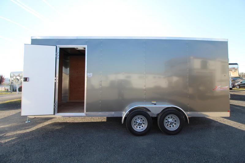 2020 Mirage Xpres 7x18 TA - Side by Side Enclosed Cargo Trailer