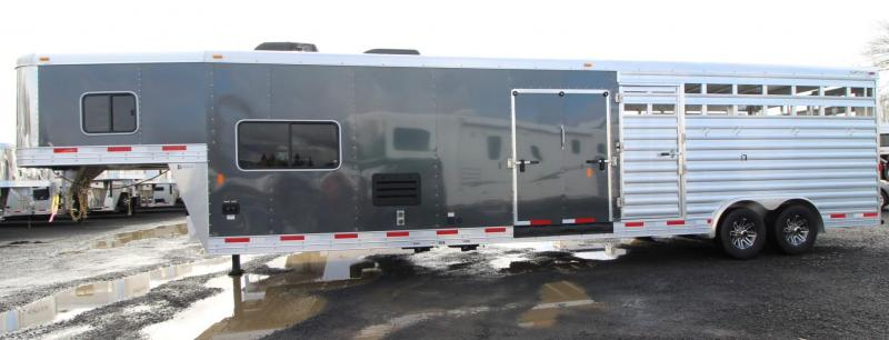 2019 Exiss STC 8032 Stock Combo 10'sw Living Quarters Trailer * Mid Tack W/ Ramp - Easy Care Flooring - All Aluminum construction PRICE REDUCED $1195