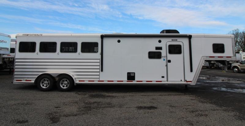 2020 Featherlite 7841 Legend - 7'w 10'sw Living Quarters 4 Horse Trailer