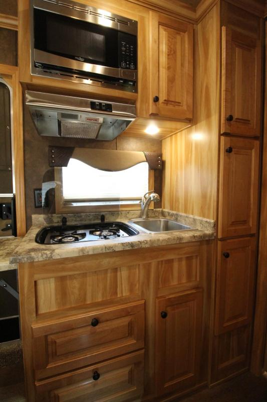 2019 Exiss Escape 7310 Living Quarters - Easy Care Flooring - Upgraded Interior PRICE REDUCED $4600