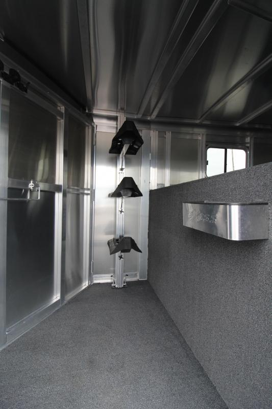 2019 Exiss Express XT 3 Horse Trailer PRICE REDUCED $950-Champagne - Easy Care Flooring - All Aluminum Construction - 7'2 Tall