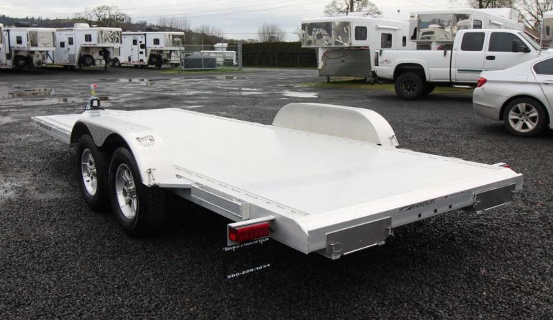 2020 Featherlite 3182 - 18ft Aluminum Flat Bed Car Trailer