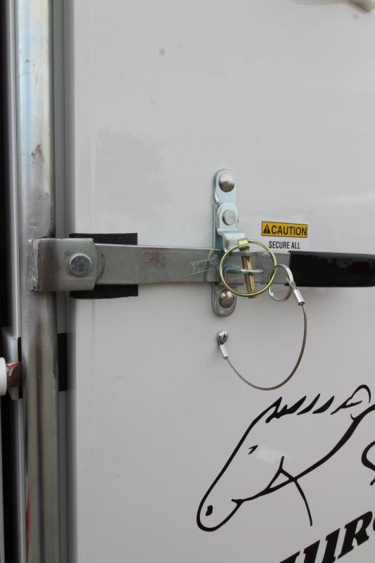 2020 Thuro-Bilt Wrangler 17' Steel Livestock Trailer - Upgraded Rear Combo Slider Gate - LED Load Light