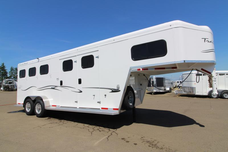"2020 Trails West Classic 3 Horse - Comfort Package - Side Tack - 7'6"" Tall with Escape Door - Pre-wired for A/C"