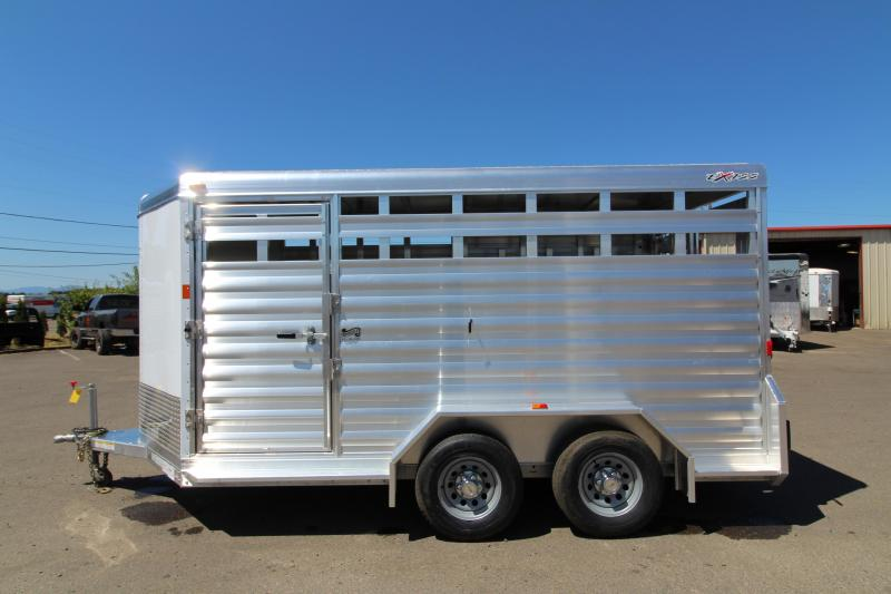 NEW 2018 Exiss STK 713 Livestock Trailer - All Aluminum - 13' Floor Length - 6'8 - PRICE REDUCED BY $1400