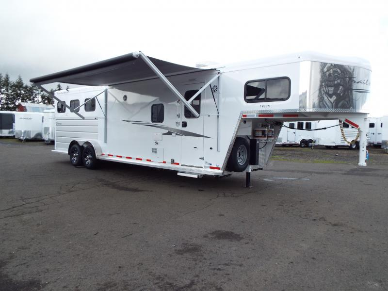 2020 Trails West Trails West Sierra 3H 10x15 LQ Horse Trailer