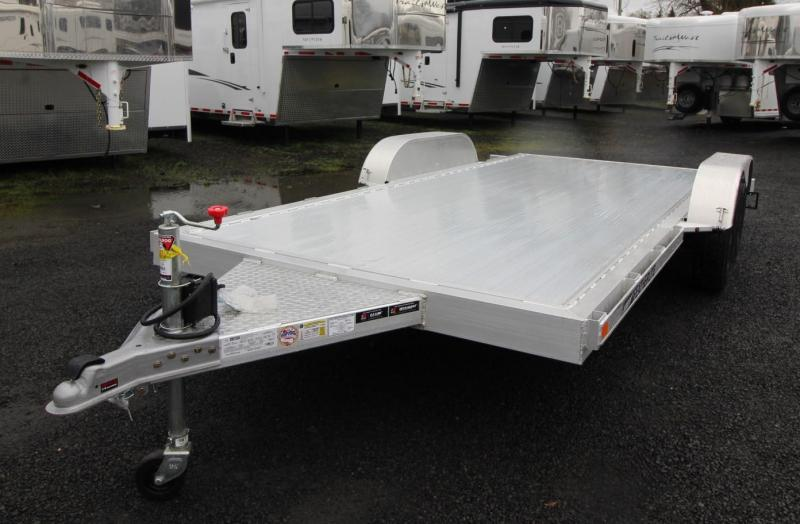 2020 Featherlite 3182 - 16ft Car / Racing Flatbed Aluminum Trailer