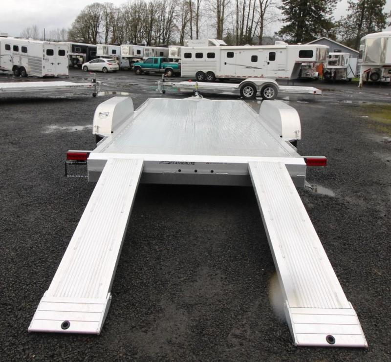 2020 Featherlite 3182 - 16ft Car / Racing Flatbed Aluminum Trailer - REDUCED $350