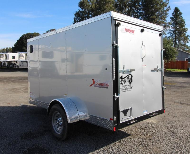 2020 Mirage Xpres 5x10 SA Xtra Package Enclosed Cargo Trailer