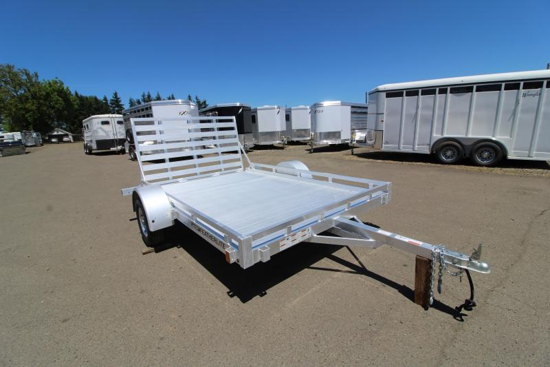 NEW 2019 Featherlite 1693 - 10 ft Utility Trailer - All aluminum - Single axle - PRICE REDUCED $400