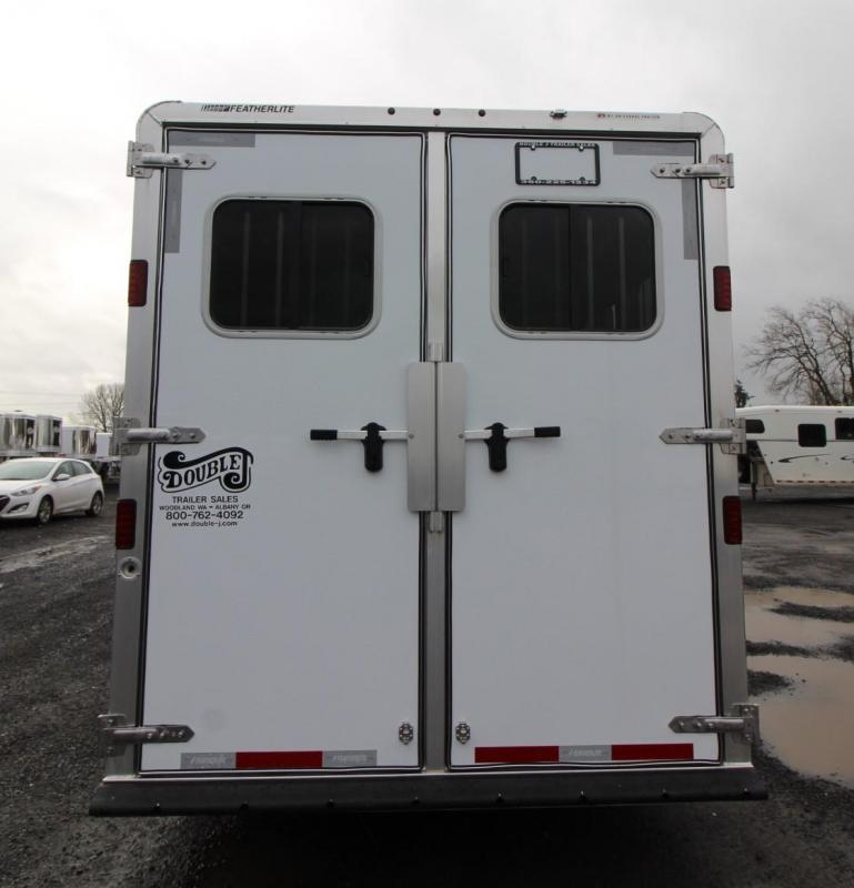 "2020 Featherlite 8541 - 6 Horse 7'6"" Tall w/ Large Tack Room Aluminum Trailer"