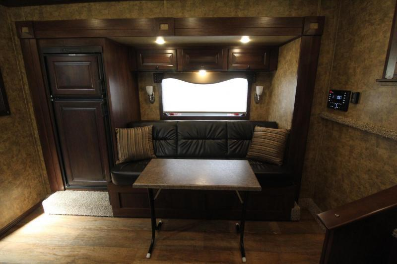 2019 Exiss 8412 w/ Slide - Generator - 4 Horse Living Quarters Trailer - Easy Care Flooring - All Aluminum - Insulated Ceiling & Upgraded Interior - PRICE REDUCED $6300