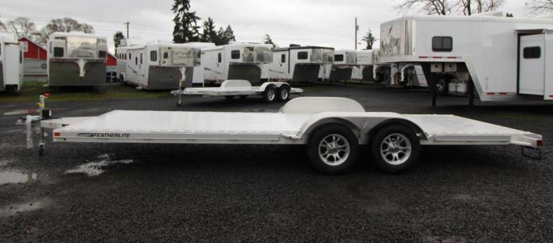 2020 Featherlite 3182 - 22' Car/Racing Flat Bed Trailer