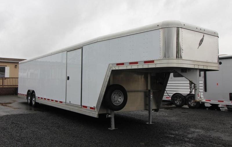 NEW Featherlite 4941 All Aluminum  - 32' Enclosed Car/Racing Trailer Reduced $5800