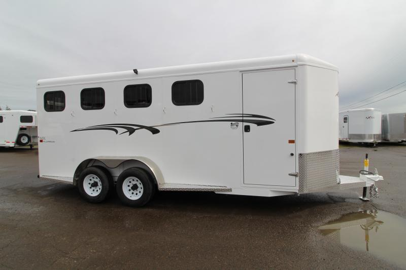 NEW 2019 Trails West Adventure MX 4 Horse Trailer - UPGRADED Rear Door Windows - Convenience Package - Swing Out Saddle Rack - NEW Floor Plan with Larger Stalls!