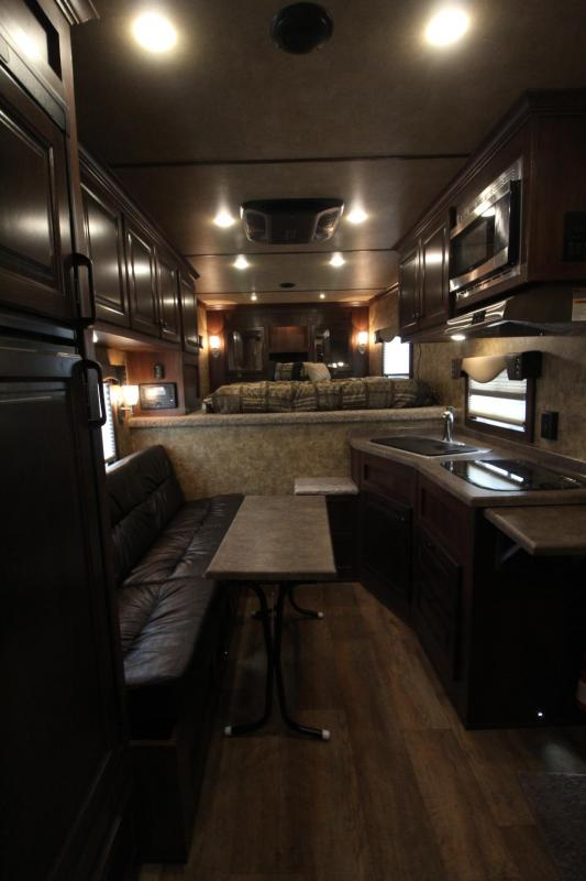 2019 Exiss 8210 - 8' Wide 10' Short Wall Living Quarters 2 Horse Trailer Easy Care Flooring - Upgraded Interior & Insulated Horse Ceiling - All Aluminum Construction PRICE REDUCED $3850