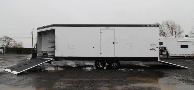 2020 Trails West RPM 28ft Burandt Edition Snowmobile Trailer