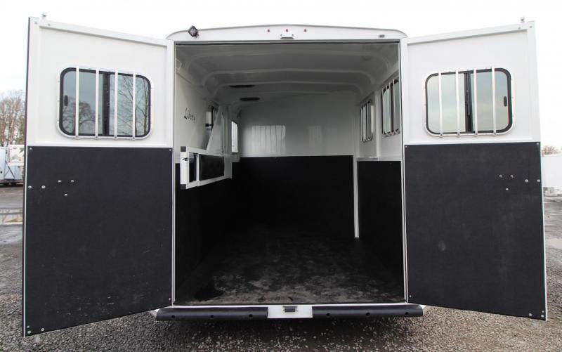 "2020 Thuro-Bilt Liberty 7' 6"" Tall 2 Horse Trailer Extra Divider Catch Load lights"