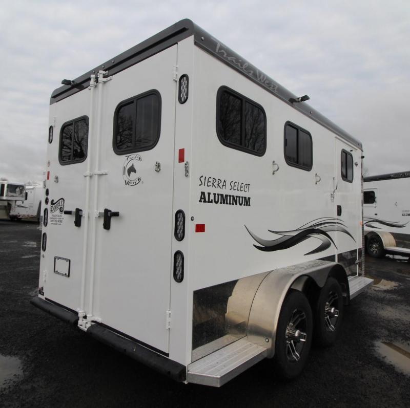 2020 Trails West Sierra Select 2 Horse - Seamless Aluminum Vacuum Bonded Walls & Roof