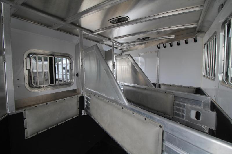 2016 Featherlite 9821 - 15ft SW Living Quarters 3 Horse Trailer - Generator Ready - Slide Out - Hayrack PRICE REDUCED $1600