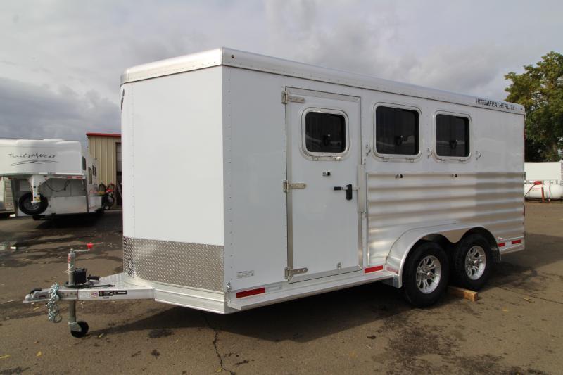 2020 Featherlite 7441 - 3 Horse Trailer - UPGRADED Easy Care Flooring - Escape Door  - All Aluminum