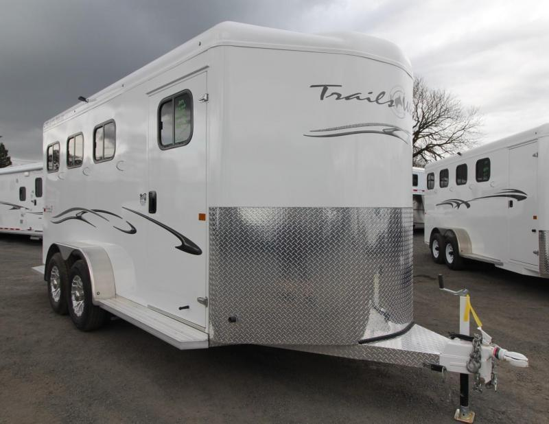 """2019 Trails West Classic 3 Horse Trailer PRICE REDUCED $1000- Escape Door  - Lined and Insulated Roof - 7'6"""" Tall"""