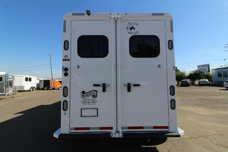 2020 Trails West Sierra 8x13 Lq 2 Horse Trailer Easy Care
