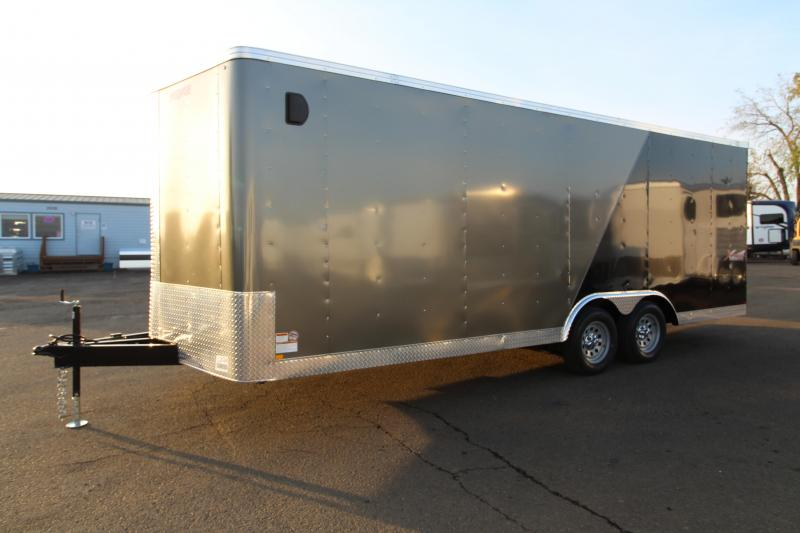 2020 Mirage Xpres 8.5' x 20' Car/Racing Trailer - Car Carrier Package - Beavertail - Rear Ramp Door - V Nose
