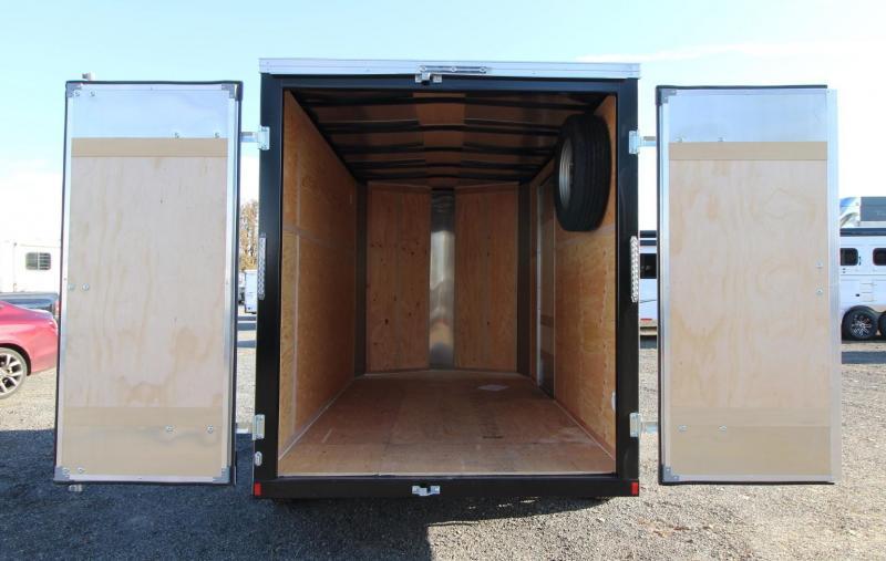 2020 Mirage Xpres 6' x 10' SA Enclosed Cargo Trailer- Diamond Ice Exterior - Xtra Package