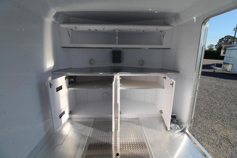 NEW Featherlite 4926 - All Aluminum -28' Enclosed Car Trailer w/ Vending Door - Lined and Insulated PRICE REDUCED $5000