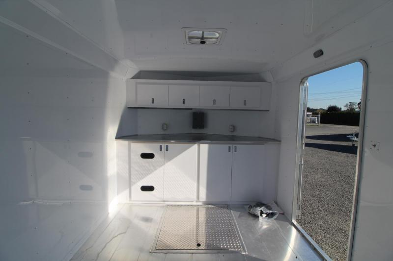 NEW Featherlite 4926 - All Aluminum -28' Enclosed Car Trailer w/ Vending Door - Lined and Insulated PRICE REDUCED $5500