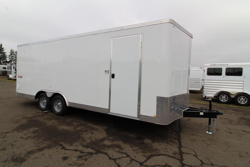 2020 Mirage Xpres 8.5' x 20'  Car/Racing Trailer - Beavertail - Car Carrier Package - V Nose - Rear Ramp Door