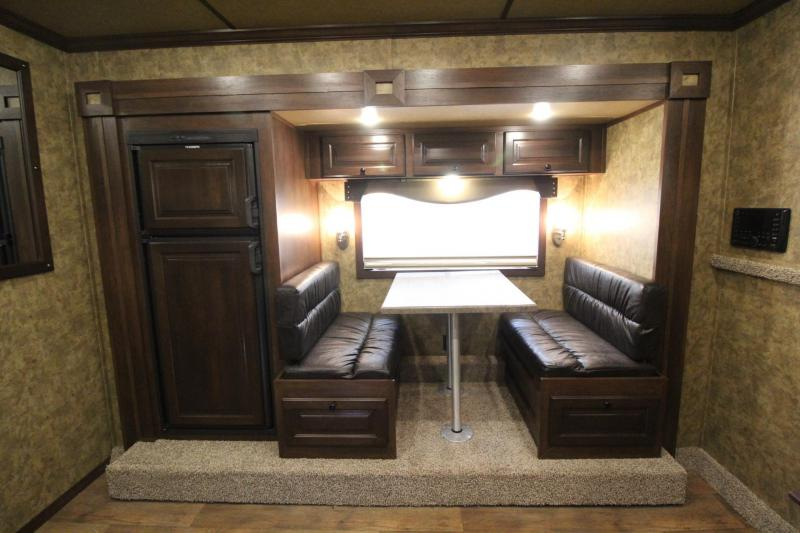 2019 Exiss Endeavor 8312 Living Quarters w/ 12' Short Wall 3 Horse Trailer - Easy Care Flooring - All Aluminum - Spare Tire - Decor Package PRICE REDUCED $3000
