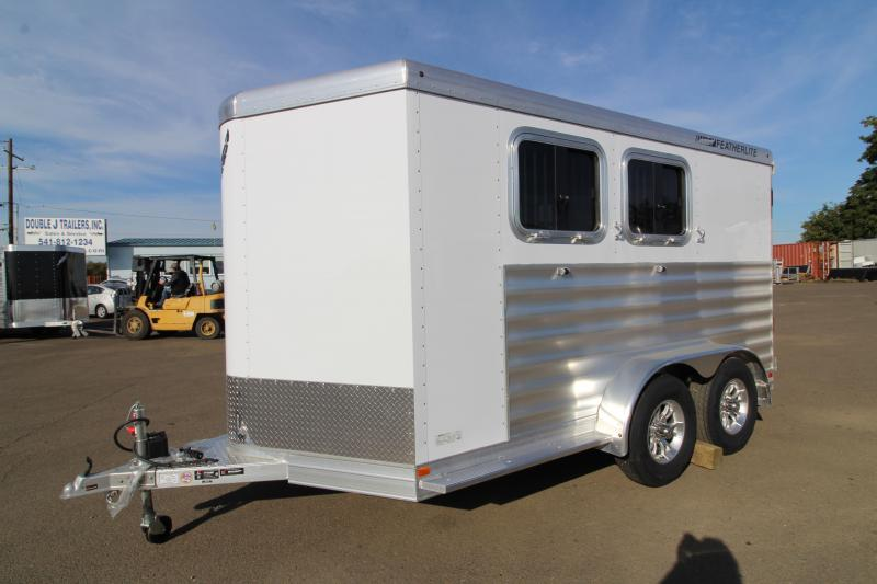 2020 Featherlite 7441 - 2 Horse All Aluminum Trailer