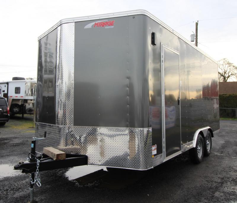 2020 Mirage Xpres 8.5x20 TA Enclosed 20ft Cargo Trailer