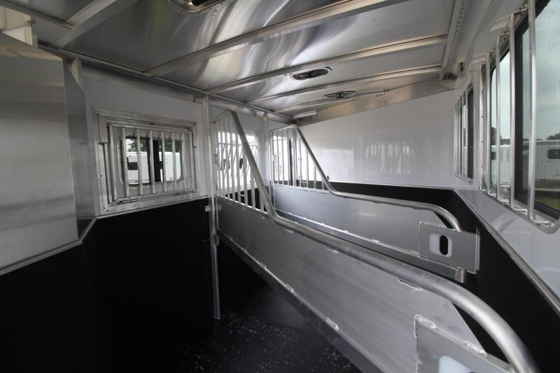 2020 Featherlite 7541 - Legend 3 Horse Trailer - All Aluminum - LARGE Dressing Room - Rear Tack PRICE REDUCED