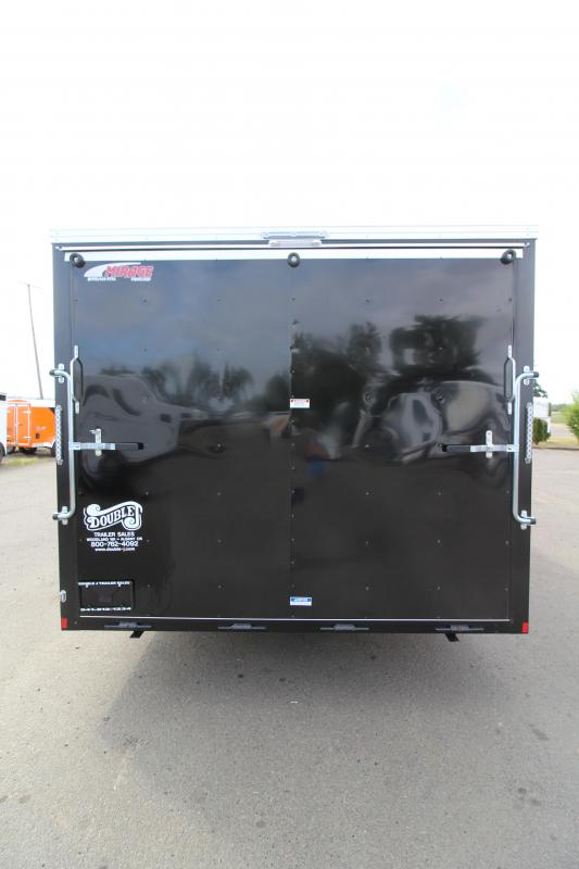 2020 Mirage Xpres 8.5X24 Car/Racing Trailer - Tandem Axle - Black Exterior - Flat Roof- V-Nose-  Car Carrier Package