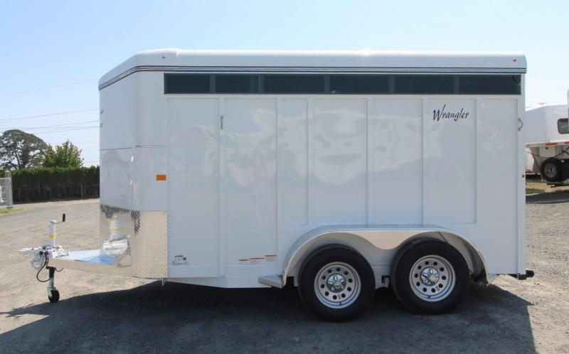 2020 Thuro-Bilt Wrangler Plus 2 Horse Trailer w/ Removable Plexiglas - Sealed tack room - Swing out saddle tree - Extra divider catch
