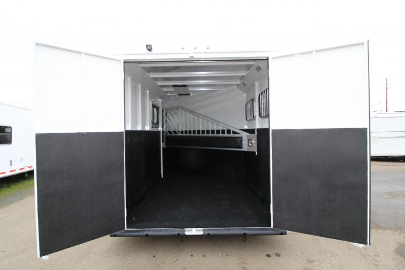 """NEW 2019 Trails West Classic 2 Horse Trailer - Upgraded Added Height 7'6"""" - Swing Out Saddle Rack"""