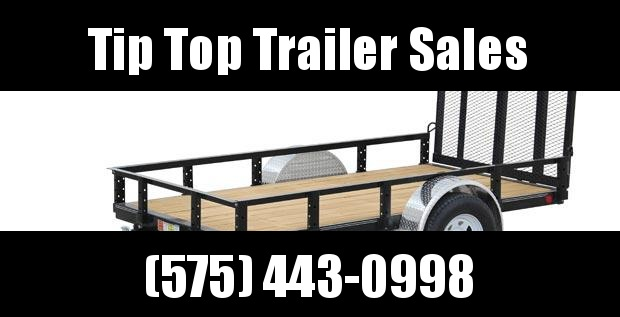 2020 PJ Trailers 60 in. Single Axle Channel Utility (U6) Trailer