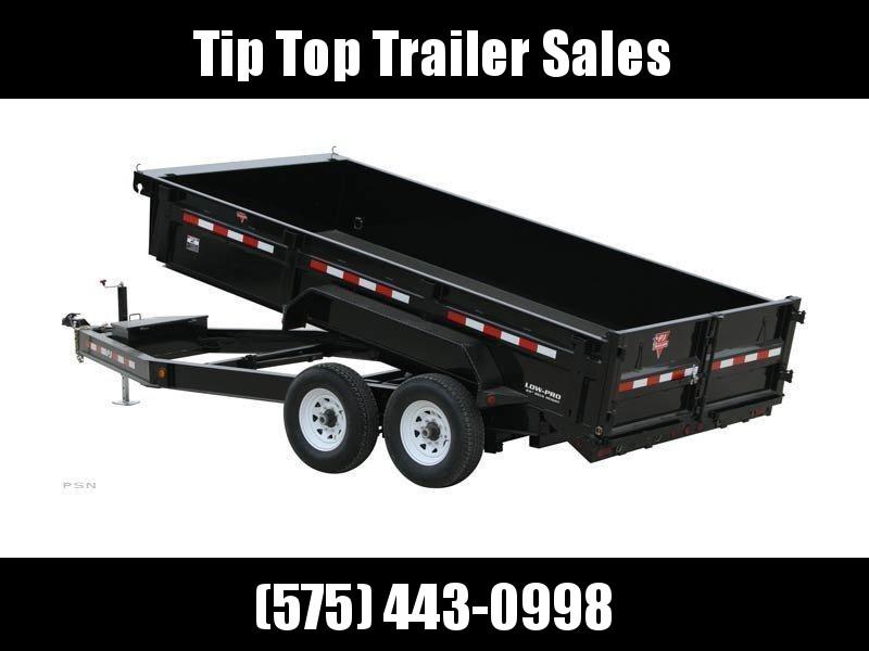 2020 PJ Trailers 83 in. Low Pro Dump (DL) Dump Trailer