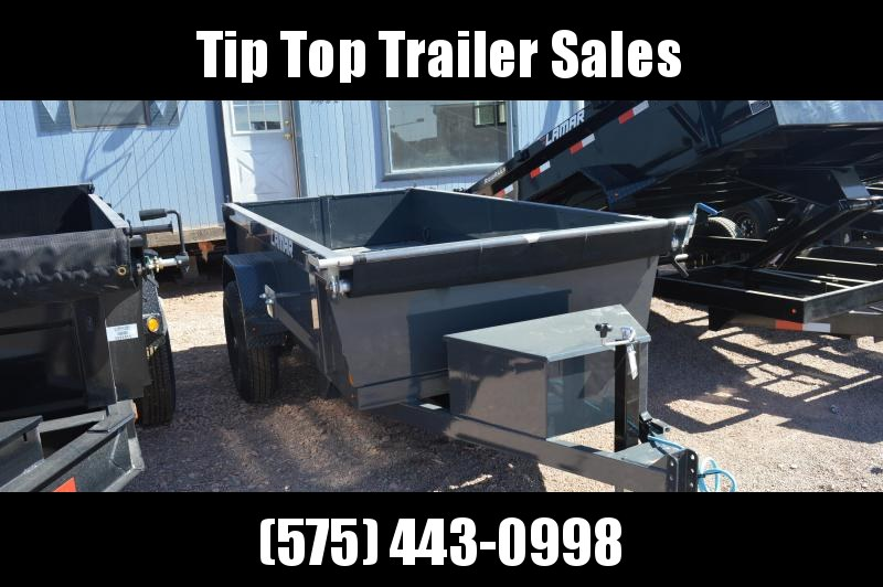 2020 Lamar Trailers 5'X10' Mini Dump (DS) 7K - 10K Dump Trailer