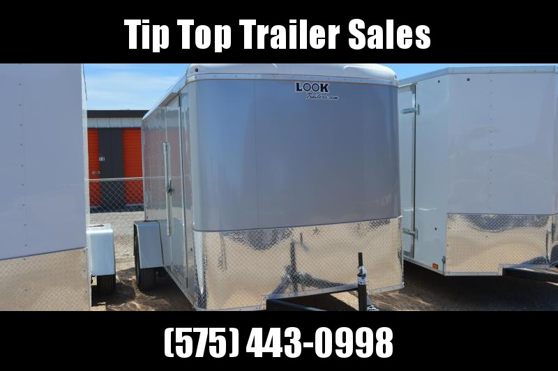 2020 Look Trailers EWLC6X10SI2 Flat Top Enclosed Cargo Trailer