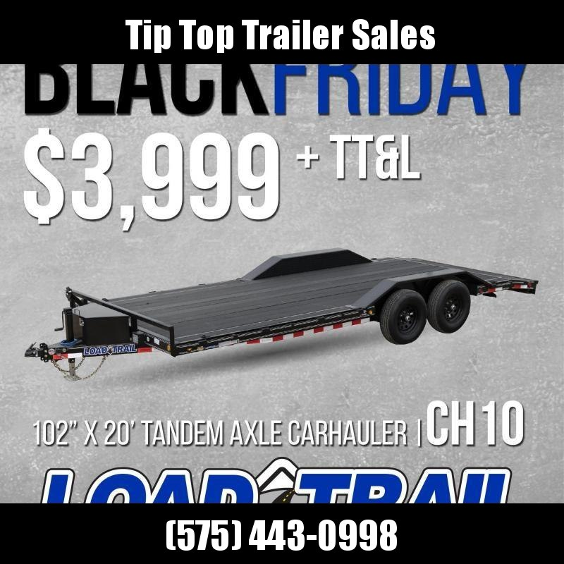 2020 Load Trail CH10 Carhauler 102 x 20 Car / Racing Trailer