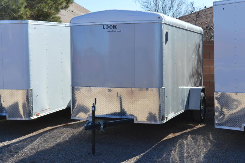 2020 Look Trailers 6'X12' Element Cargo Round Top Cargo / Enclosed Trailer