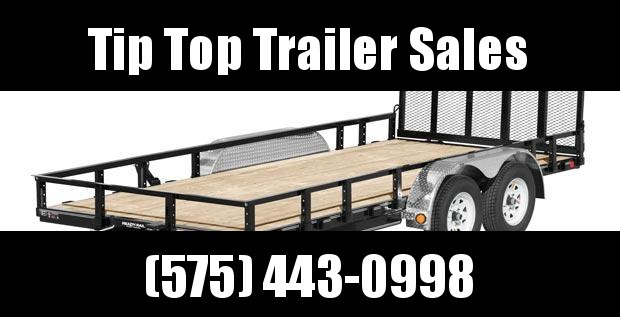 2020 PJ Trailers 16'X83 in. Tandem Axle Channel Utility (UL) Utility Trailer