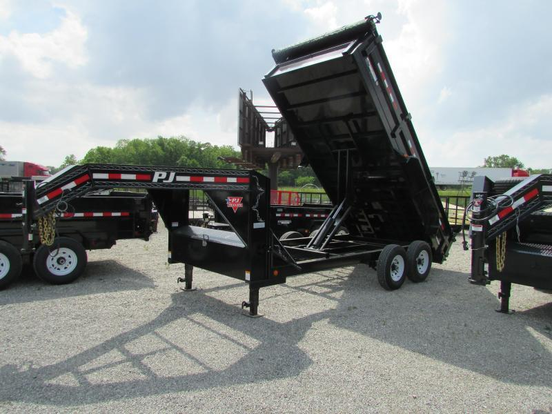2020 PJ Trailers 83 in. Low Pro Dump (DL) Trailer
