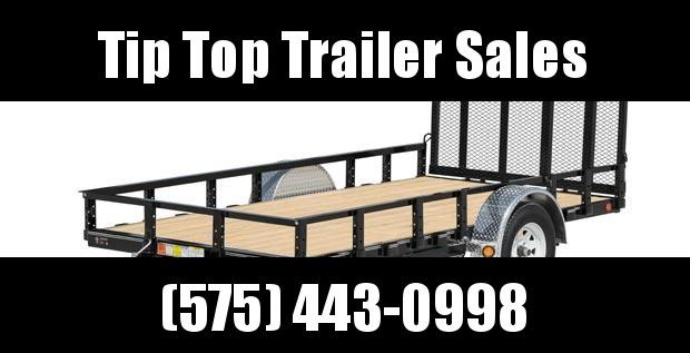 2020 PJ Trailers 72 in. Single Axle Channel Utility (U2) Utility Trailer