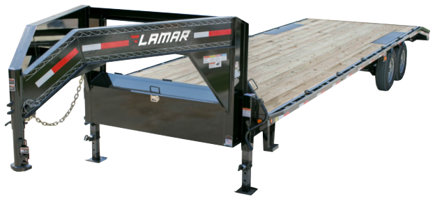 2020 Lamar Trailers Heavy Duty Deck-Over (FS) 14K - 21K Flatbed Trailer
