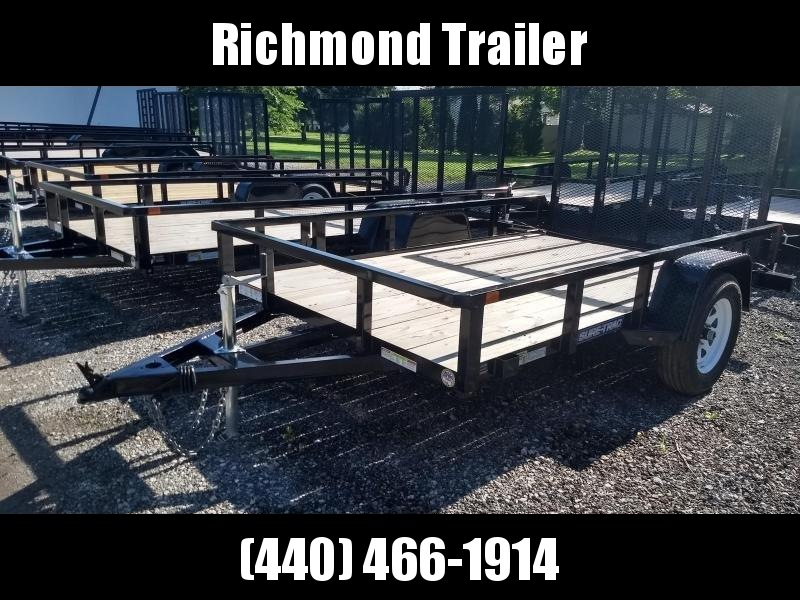 2018 Sure-Trac 6x10 Tube Top Utility Trailer